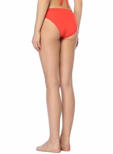 Jets Swimmear Önü Düğüm Detaylı Bikini Altı Kırmızı